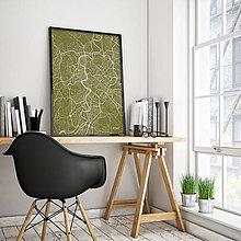 Obrazy - RÍM, minimalistický, zlatý - 8235190_