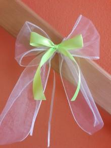 Darčeky pre svadobčanov - Mašle na auto - 8236819_