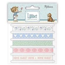 Galantéria - Lillibet - vzorované stuhy pre dievčatko a chlapčeka - 8234981_