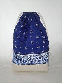 Batohy - RUKSAK folk modrý - 8236772_