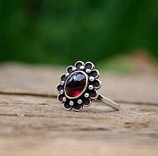 Prstene - Granatový - 8235071_