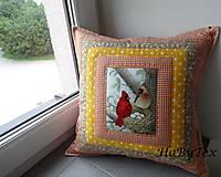 Úžitkový textil - Vankúše na chalupu alebo záhradu - 8237329_