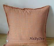 Úžitkový textil - Vankúše na chalupu alebo záhradu - 8237330_