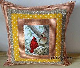 Úžitkový textil - Vankúše na chalupu alebo záhradu - 8237328_