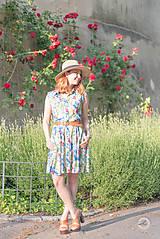 Šaty - Letné košeľové šaty - 8237031_
