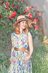 Šaty - Letné košeľové šaty - 8237033_