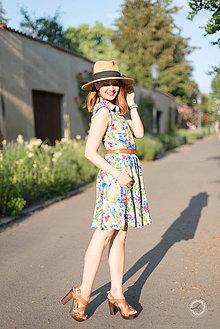 Šaty - Letné košeľové šaty - 8237029_