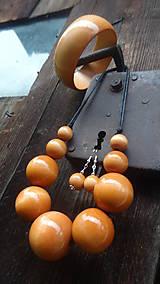 Sady šperkov - Lososová sada 3v1 - 8236216_