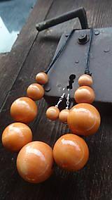 Sady šperkov - Lososová sada 2v1 - 8236263_