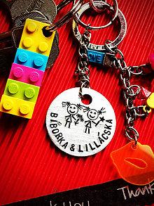 Kľúčenky - GIRLs :) krúžok 35mm :) - 8237623_