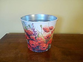 Nádoby - makový kvetináč - 8240182_
