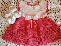 Šaty  papučky