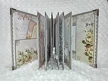 Papiernictvo - Luxusný svadobný fotoalbum - romantický - 8239019_