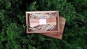 - Dámsky drevený motýlik - 8237657_