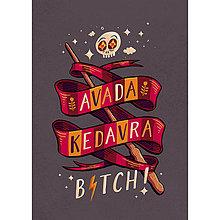 Grafika - Avada Kedavra (Size: L) - 8240740_