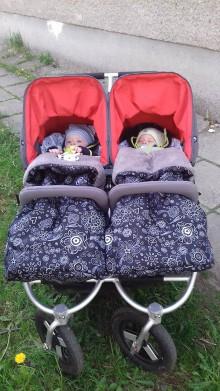 Detské súpravy - Veľký set pre kočík Bumbleride Twin - 8241330_