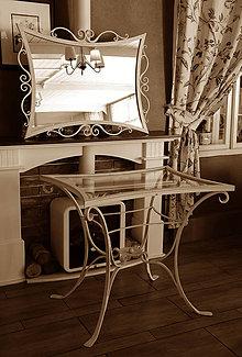 Nábytok - kovaný nábytok vintage style - 8243489_
