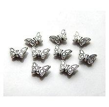 Korálky - Kovová korálka Pille - 8243620_