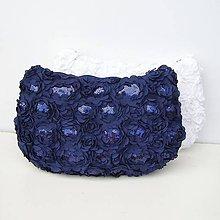 Kabelky - Spoločenská kabelka Modrá - 8242618_