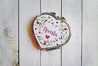 Darčeky pre svadobčanov - Svadobné zrkadielko - 8243676_