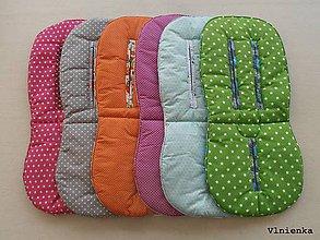 Textil - Ihneď k odberu RUNINKO Vložka / podložka univerzálna LETNÁ do kočíka a autosedačky 0+ rôzne motívy - 8241804_