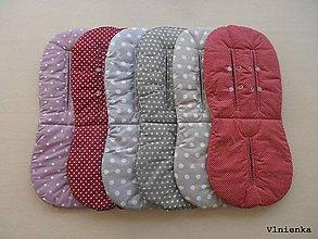 Textil - Ihneď k odberu RUNINKO Vložka / podložka univerzálna LETNÁ do kočíka a autosedačky 0+ mix farieb - 8241834_