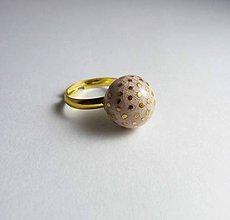 Prstene - Tana šperky - keramika/zlato - 8241535_