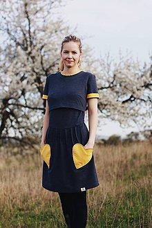 Šaty - Šaty na dojčenie Mama a dcéra - 8243647_