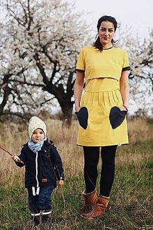 Šaty - Šaty na dojčenie Mama a dcéra - 8243672_