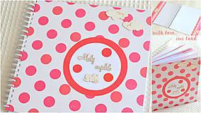 Papiernictvo - Detský fotoalbum - pre dievčatko - 8241707_