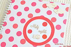 Papiernictvo - Detský fotoalbum - pre dievčatko - 8241708_