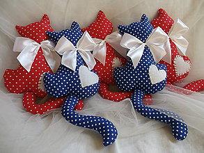Darčeky pre svadobčanov - Mačičky pre detičky - 8242503_
