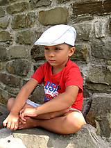 Detské čiapky - Bekovka biela - 8243893_