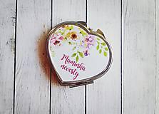 Darčeky pre svadobčanov - Svadobné zrkadielko - 8245309_
