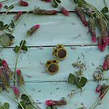 Náušnice - Satin soutache earrings n.4 - sutaškové náušnice - 8243950_