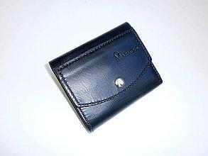 Peňaženky - Kožená peňaženka - Secret - 8244489_