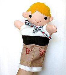 Hračky - Maňuška folk chlapec - Daniel - 8244773_