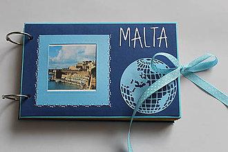 Papiernictvo - Dovolenkový fotoalbum (Malta) - 8244609_