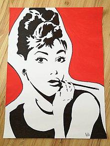 Kresby - Audrey Hepburn - 8244195_