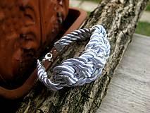 Náramky - Uzlový náramok - 8245066_