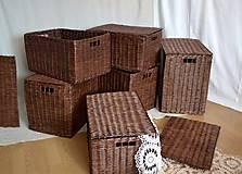 Košíky - Boxy s poklopom JOHANKA/sada,aj jednotlivo - 8244925_