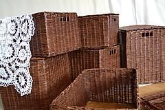Košíky - Boxy s poklopom JOHANKA/sada,aj jednotlivo - 8244928_
