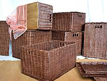 Košíky - Boxy s poklopom JOHANKA/sada,aj jednotlivo - 8244929_