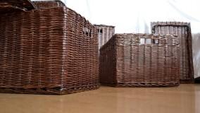 Košíky - Boxy s poklopom JOHANKA/sada,aj jednotlivo - 8244931_