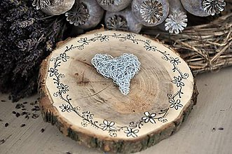 Prstene - Svadobný vankúšik...Natur svadba - 8248711_