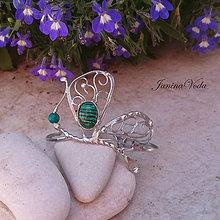 Náramky - ...ERASMUS Butterfly... náramek - 8247476_