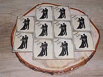 - vintage svadba/magnetky pre svadobčanov 2 - 8248998_