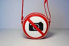 - Kabelka okrúhla Zákaz fotografovania! - 8248160_