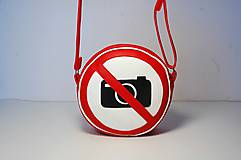 Kabelky - Kabelka okrúhla Zákaz fotografovania! - 8248160_
