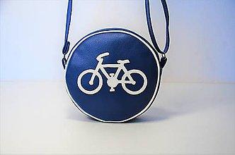 Kabelky - Kabelka okrúhla Cestička pre cyklistov - 8248319_